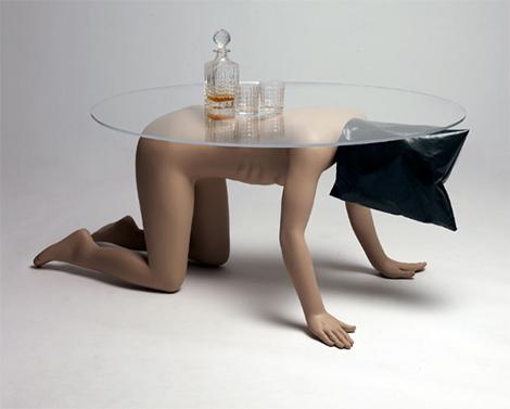 Abu Ghraib Coffee Table