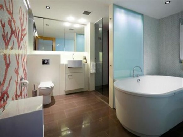 Amazing Modern Penthouse A Dream Home Design Bathroom