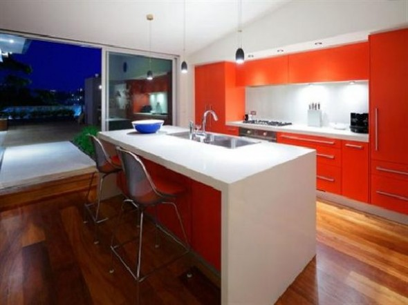 Amazing Modern Penthouse A Dream Home Design Kitchen Design