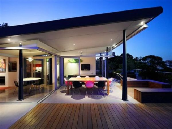 Amazing Modern Penthouse A Dream Home Design Outdoor Dining