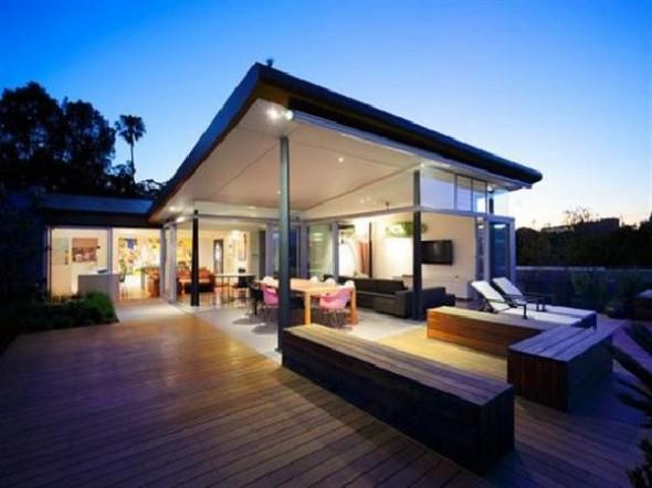 Amazing Modern Penthouse A Dream Home Design Wooden Deck