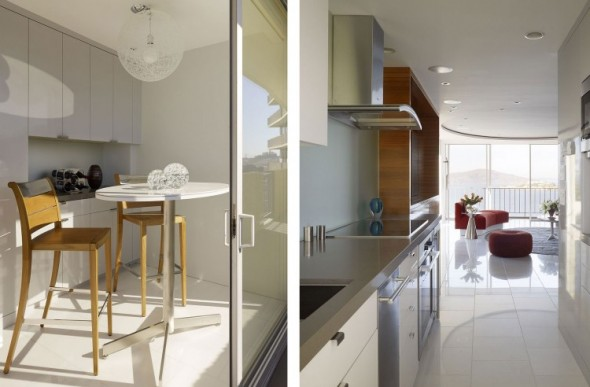 Apartment Interior Remodeling in San Francisco by Mark English Architects