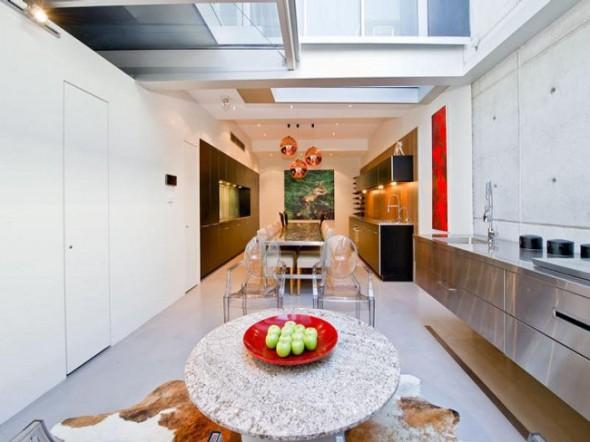 Bachelor Apartment Design Barbecue Grill