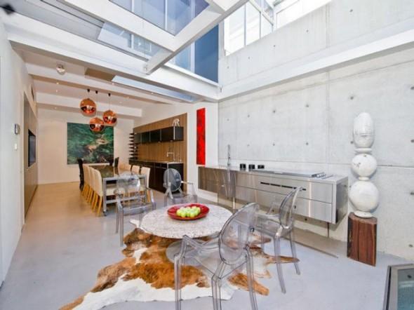 Bachelor Apartment Design Dining Area