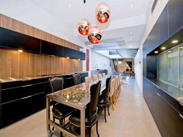 Bachelor Apartment Design Formal Dining Room