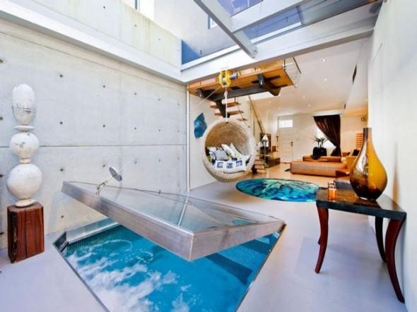 Bachelor Apartment Design Living Room