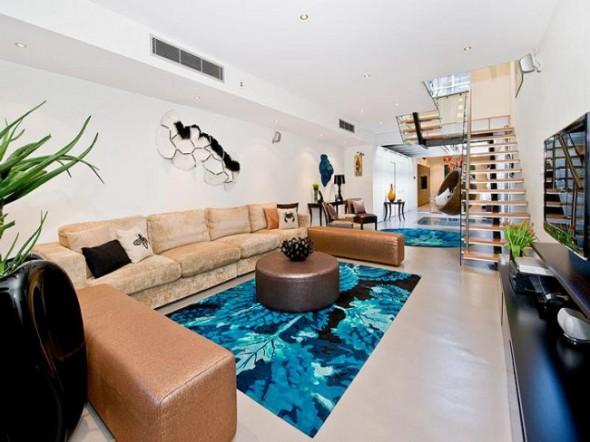 Bachelor Apartment Design Living Room Decor