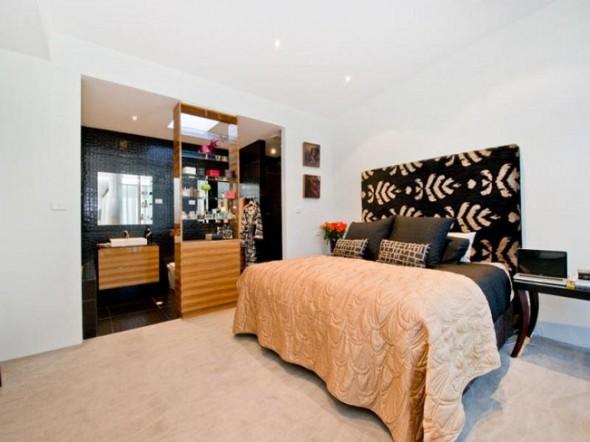 Bachelor Apartment Design Master Bedroom