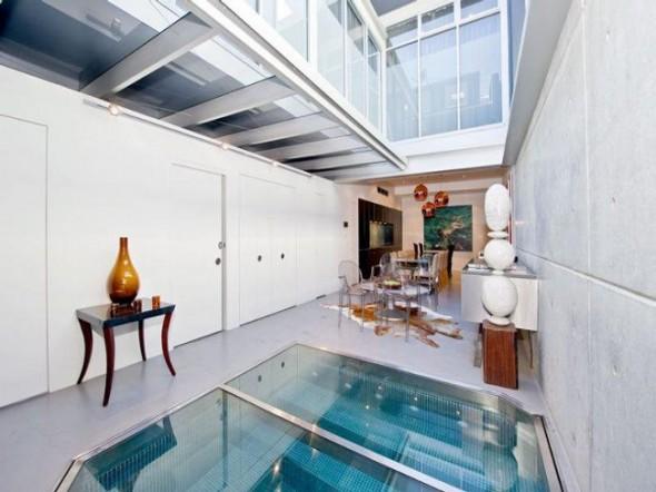 Bachelor Apartment Design Retractable Roof