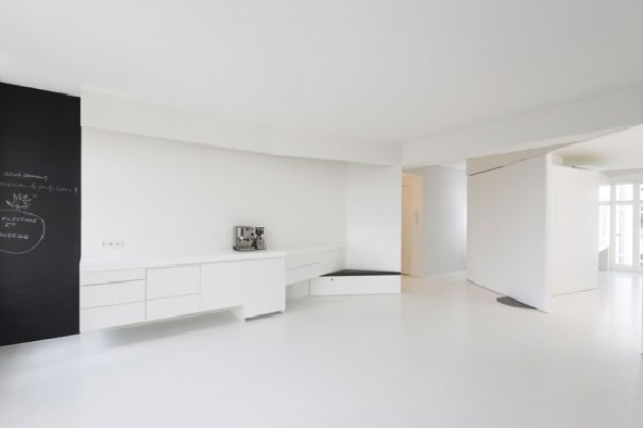 Berlin Apartment Interior Designed by Reinhardt jung
