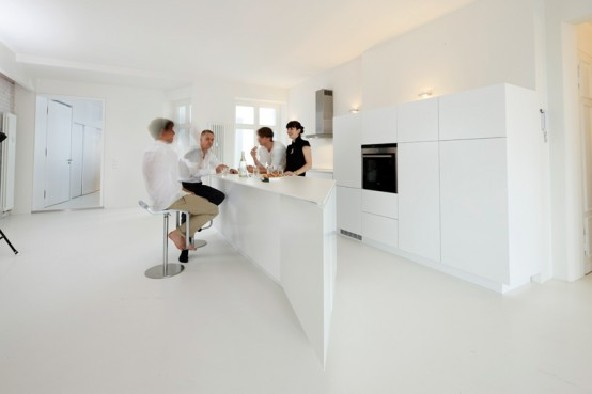 living white - Berlin Apartment