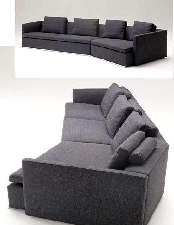 Black White Sectional Sofas