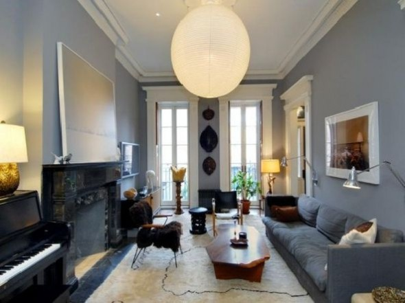 Celebrity apartment in Townhouse West Village New York