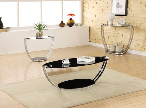 Chrome Plated Coffee Table