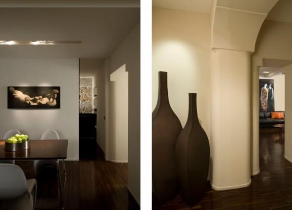 Dinning room-Trastevere Apartment by Carola Vannini-transisi