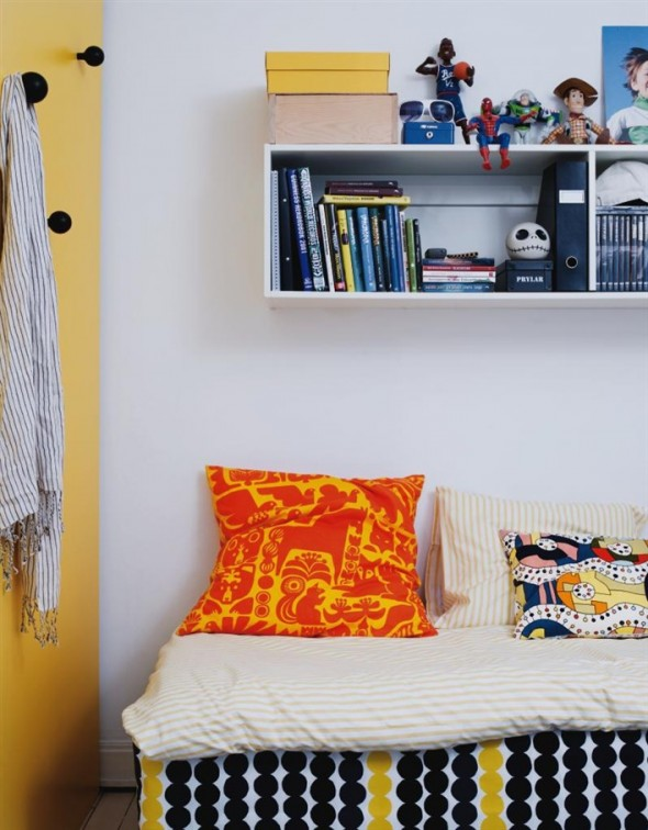 Double joy in bedroom furniture apartment