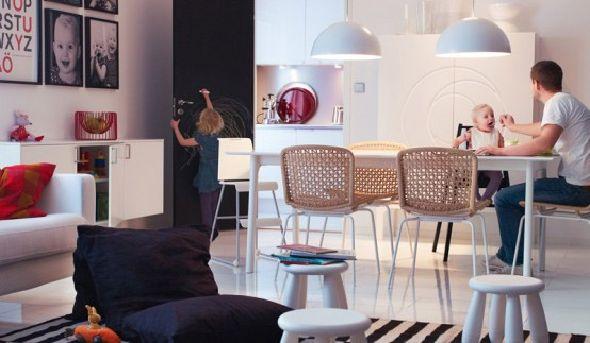 IKEA Design Dining Room Family