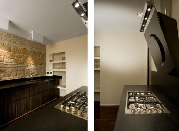 Kitchen-Trastevere Apartment by Carola Vannini