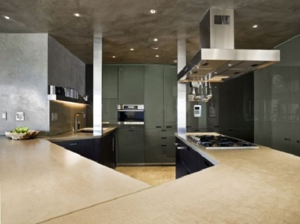 kitchen apartment design by Apartment Creative Agency