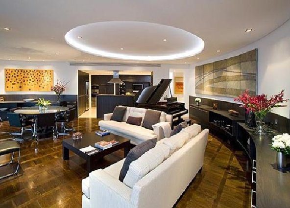Luxury apartment interior by Noel Robinson