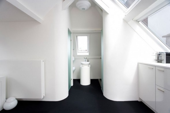 Maff Mini-Apartment in The Hague by Queeste Architecten