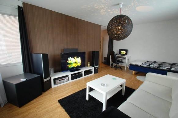 Apartment Living Room Entertainment | 2017 Apartment Concept Idea ...