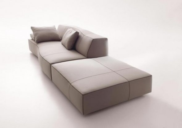 Sectional Sofas Furniture Design Bend Patricia Urquiola Contemporary Whte