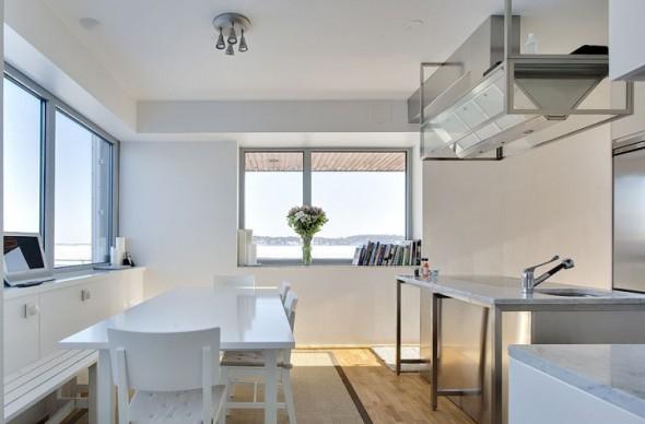 Splendid Triplex Apartment over the Water in Sweden