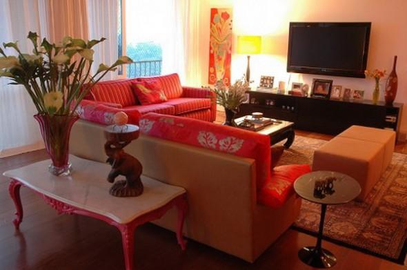 Vintage Living room apartment design by nezacesar