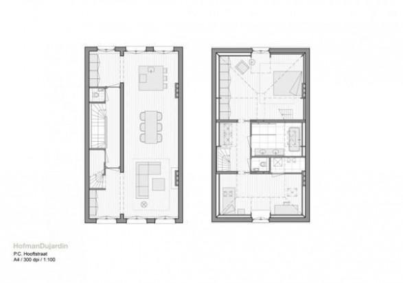 Wonderful and Bright Apartment Interior Design siteplan