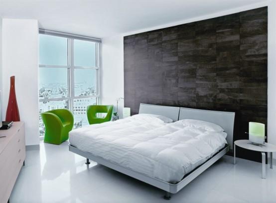 apartment interiors bedroom designs