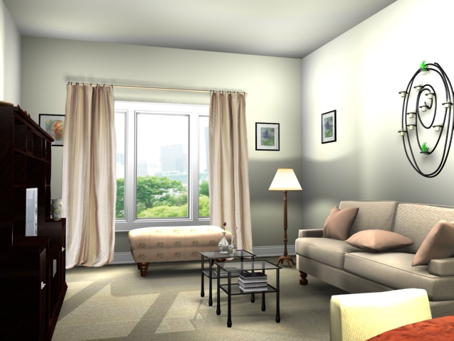 apartment living-room ideea