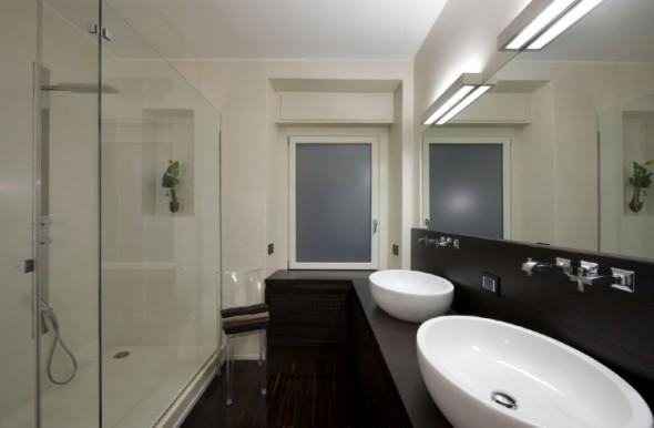 bathroom-Trastevere Apartment by Carola Vannini