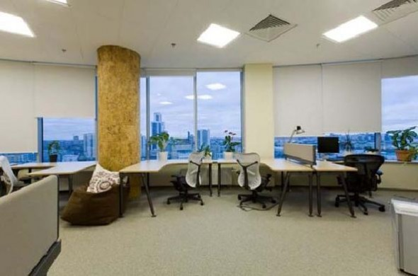 fresh office interiors design