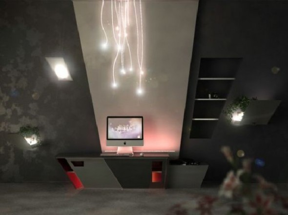 futuristic apartment interior designs