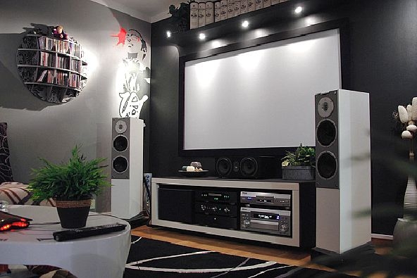 home theater design by Z3M johan