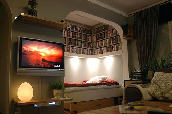 Home Theater Design With Small Room | 2017 Apartment Concept Idea