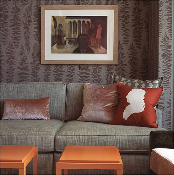 interiors and wall paintings