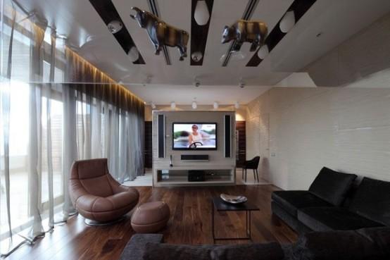 luxury apartment in Moskow