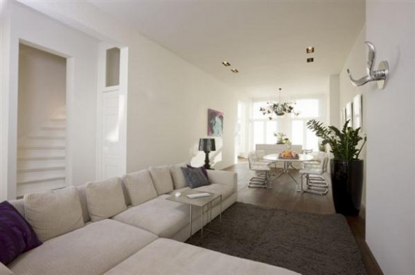 mainroom apartment Interior Design with modern and simply concept