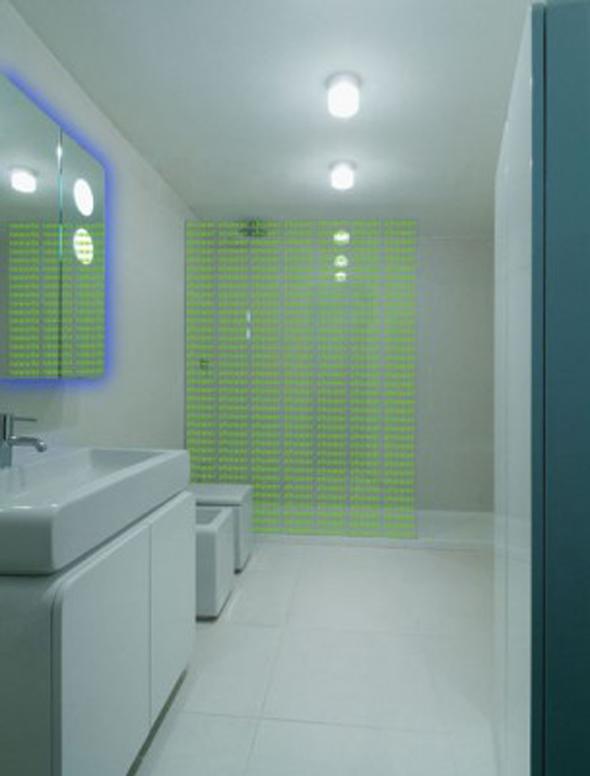 modern minimalist bathroom small apartment