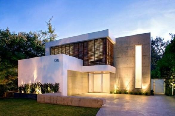 apartment modern pool house