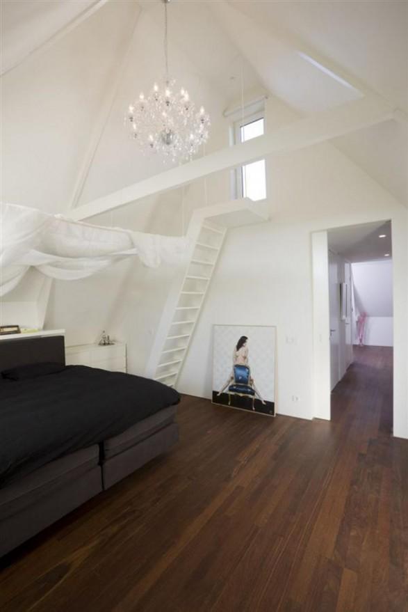 simply bedroom Design by Hofman Dujardin Architects