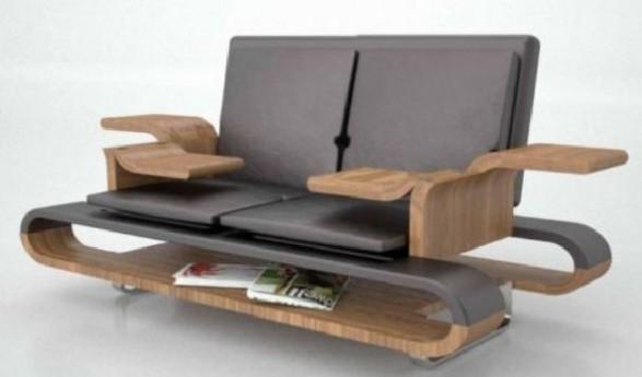 space saving multi functional sofa design