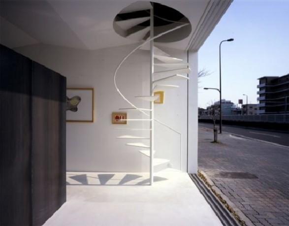 spiral staircase decoration