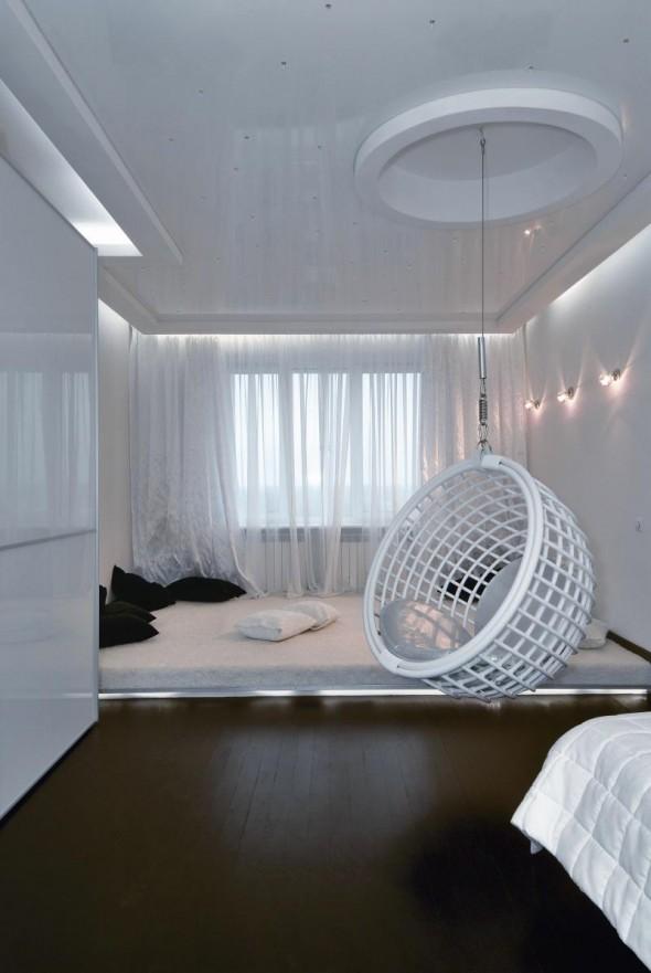 Futuristic Apartment Interior by Natalya Farnosova and Elena Samarina