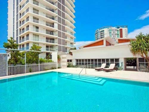 Modern Pool Beachside Apartment Design