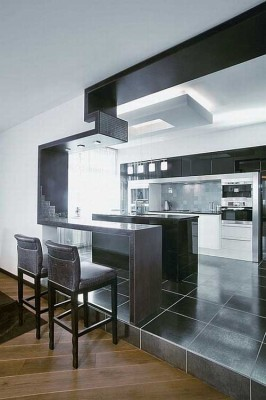 minimalist african pantry idea
