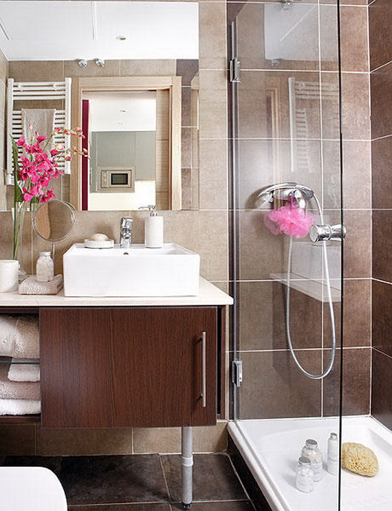Apartment Bathroom Ideas. Love Your Little House Home Tour And ...