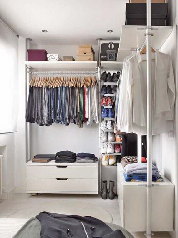 dressing room-Very Small Apartment Design Ideas by Angelina